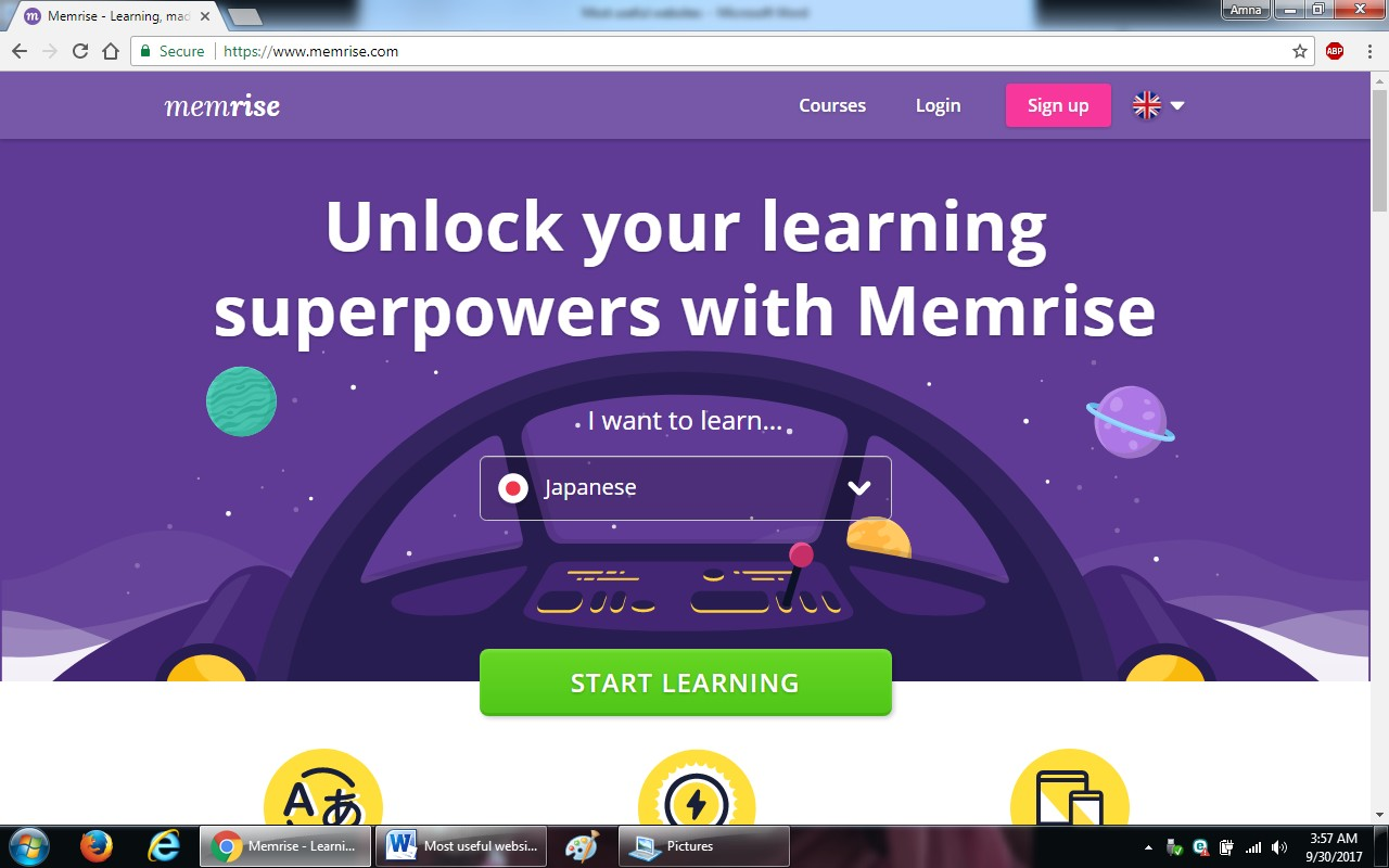 18. memrise - 100+ most useful websites list we are not yet familiar with