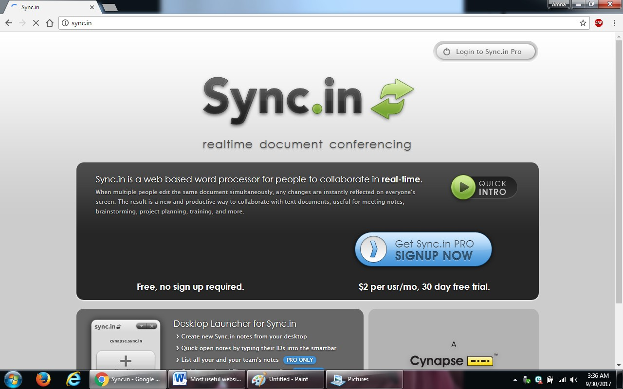 20. sync.in  - 100+ most useful websites list we are not yet familiar with