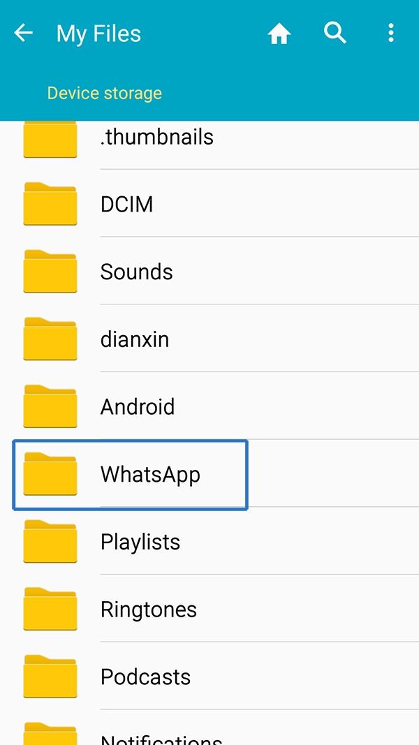 how to delete whatsapp backup on android handsets