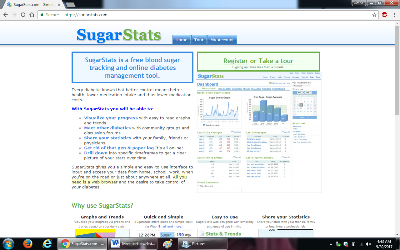 55. sugarstats.com  - 100+ most useful websites list we are not yet familiar with