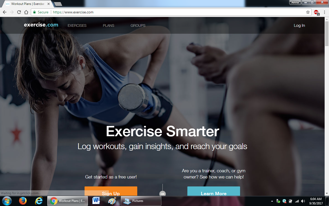99 exercise.com  - 100+ most useful websites list we are not yet familiar with