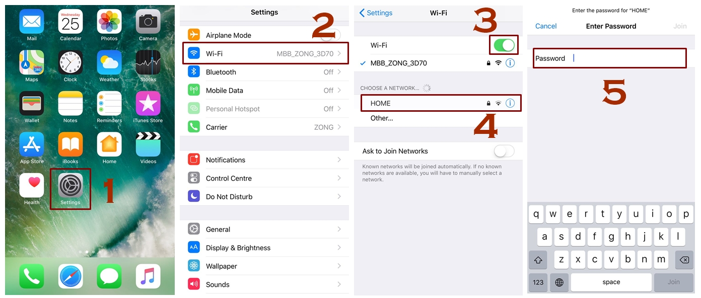 How to Connect iPhone to WiFi network - Connect iPhone to WiFi - How to Connect to a Hidden WiFi Network