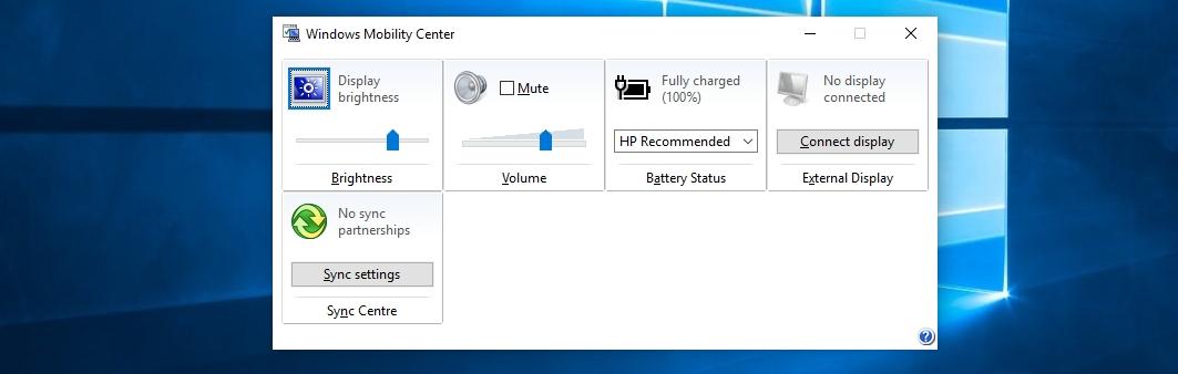 adjust brightness mobility center windows 10 - How to adjust the brightness in laptop on windows 10,8 and 7