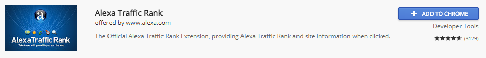 alexa traffic rank add on - 20 Most Useful and Best Chrome Extensions List You should use