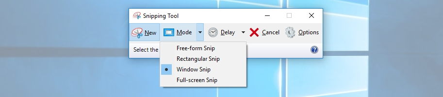 capturing a single window - How to take screenshots in Laptop on windows 10