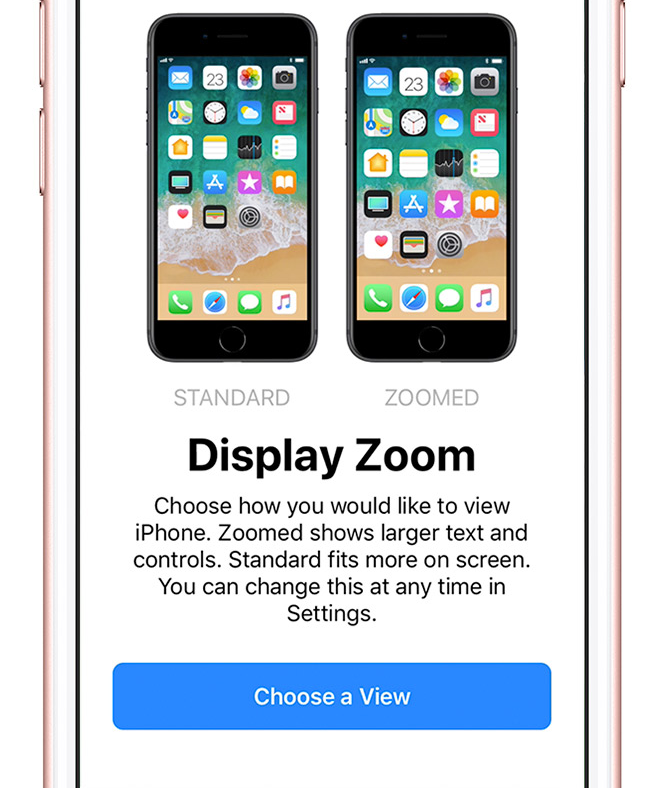 choose display iphone setup - How to set up your iPhone (Step by Step Guide)