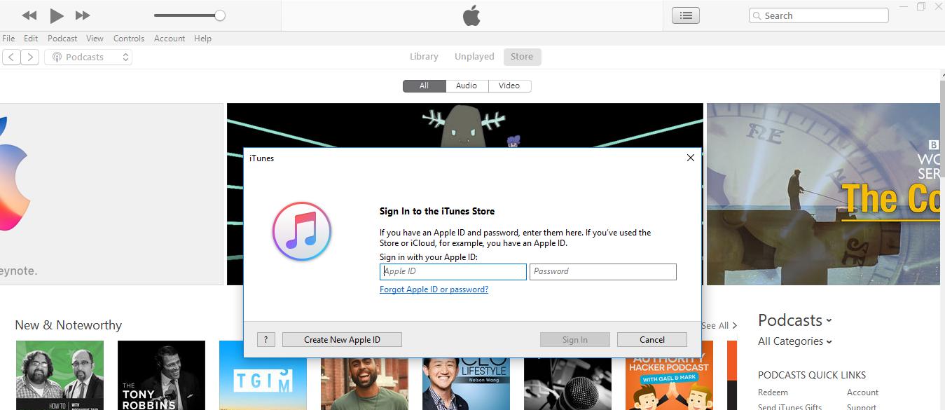create an apple id 2 - How to Create an Apple ID using iTunes