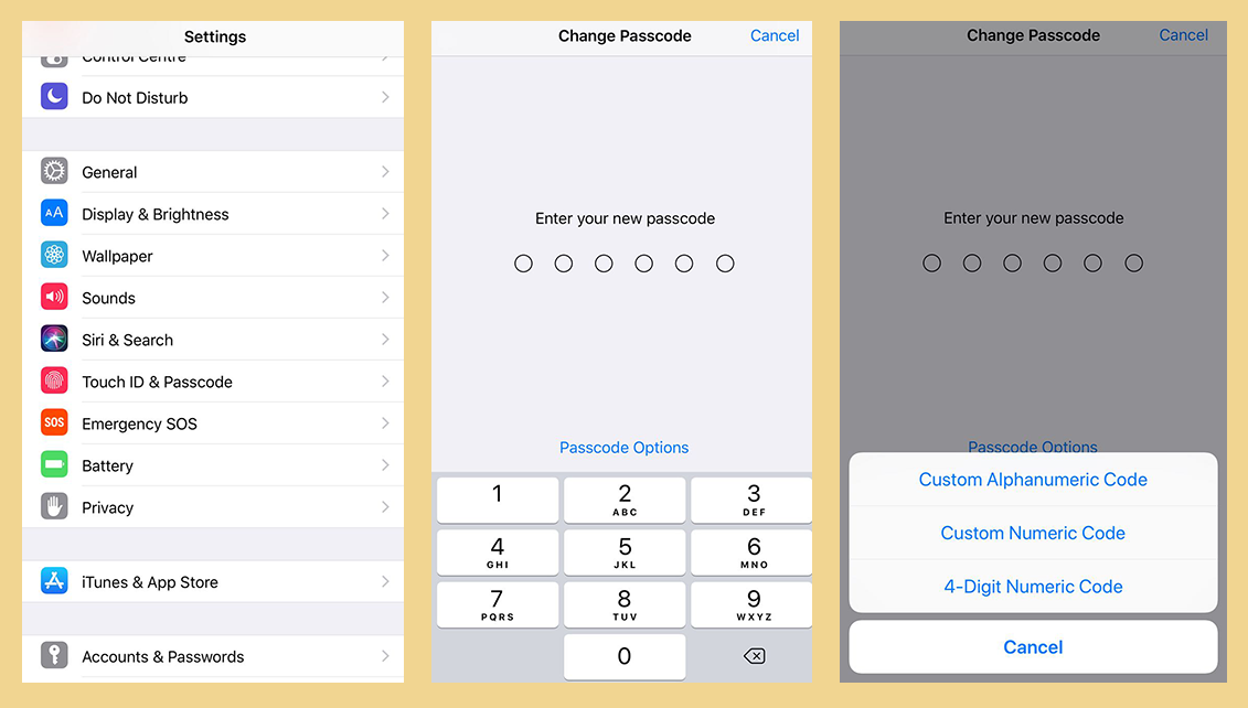 create custom passcode iphone - These Hidden iPhone tricks and Secrets will make your Day