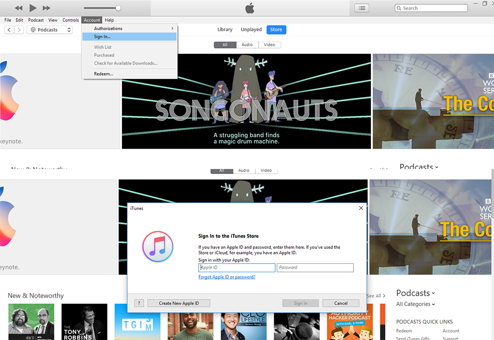 how to get itunes id