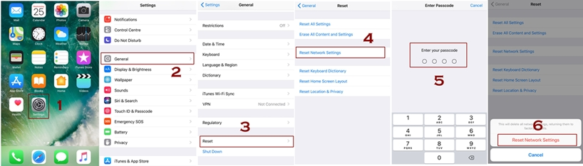 how to reset network settings in iPhone techbytex - How to Reset Network Settings iPhone - How it works, benefits and why do we need it