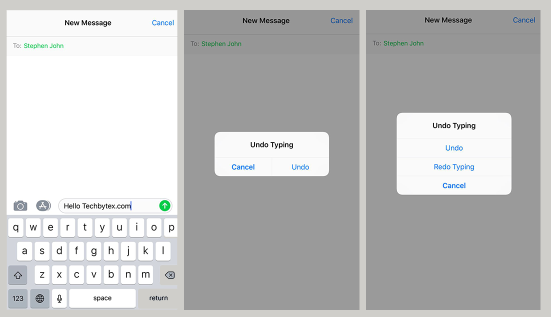 iPhone shake redo message - These Hidden iPhone tricks and Secrets will make your Day