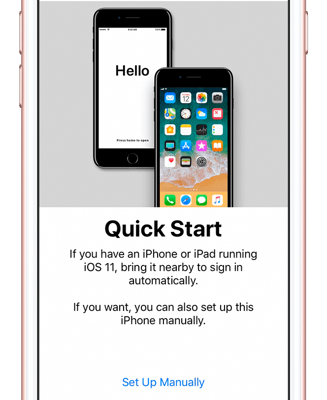 quick start iphone set up - How to set up your iPhone (Step by Step Guide)