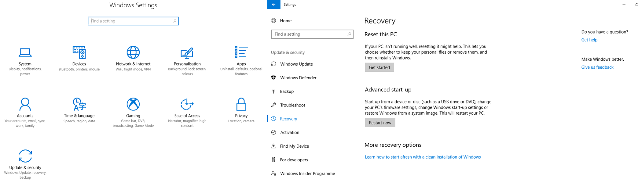 start pc safe mode settings - Start Your PC in Safe Mode in Windows 10