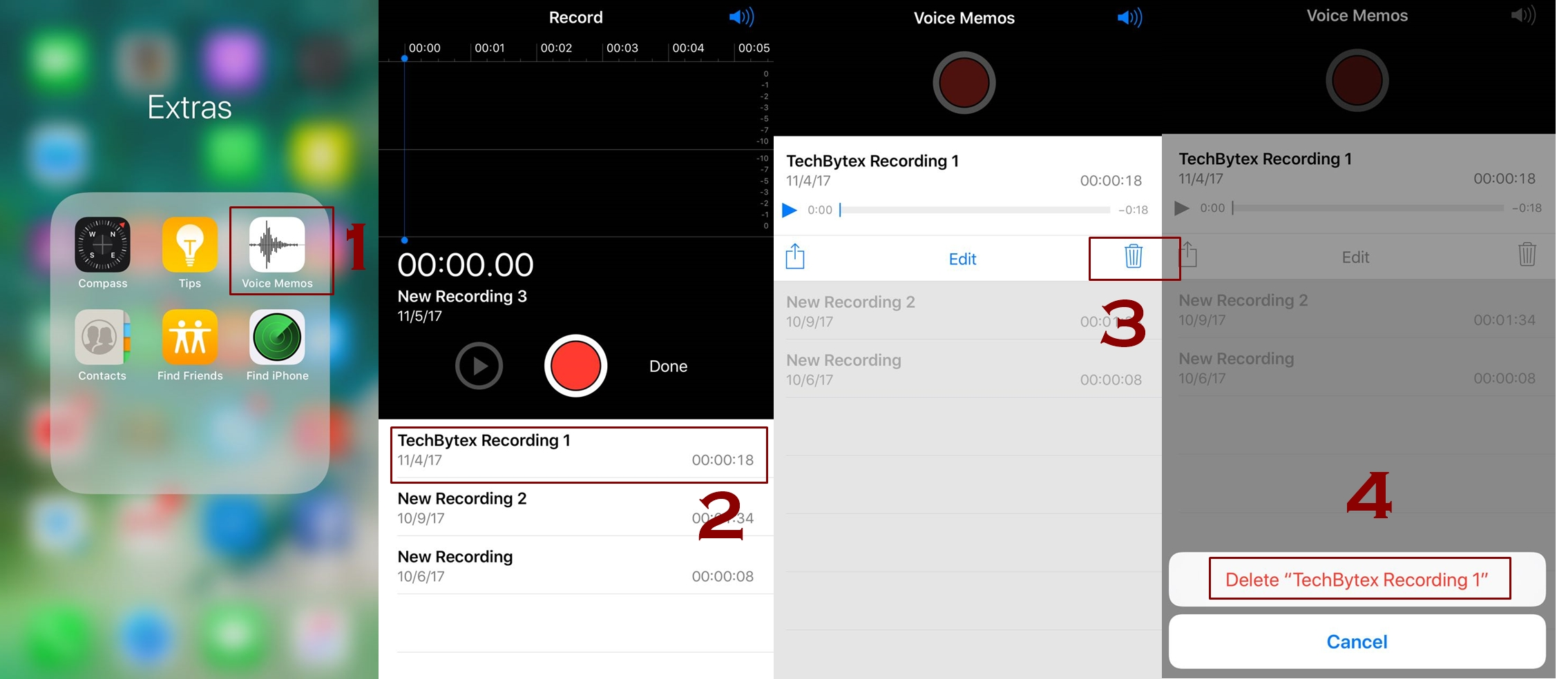 How to delete voice memos on iPhone manually 1 - How to delete voice memos on iPhone