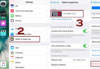 How to remove card from apple pay 320x220 - How to Remove or Change a Default Card from Apple Pay