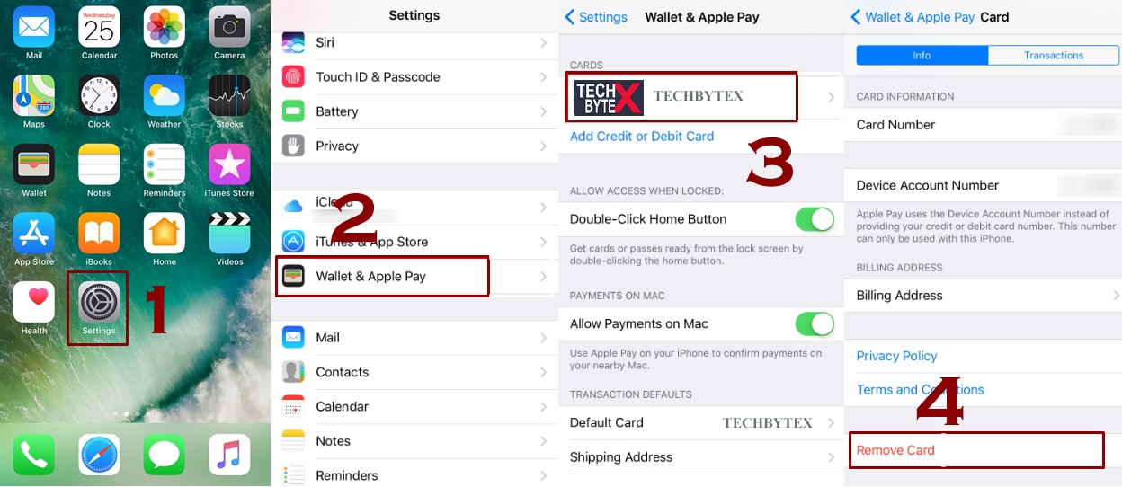 How to remove card from apple pay - How to Remove or Change a Default Card from Apple Pay