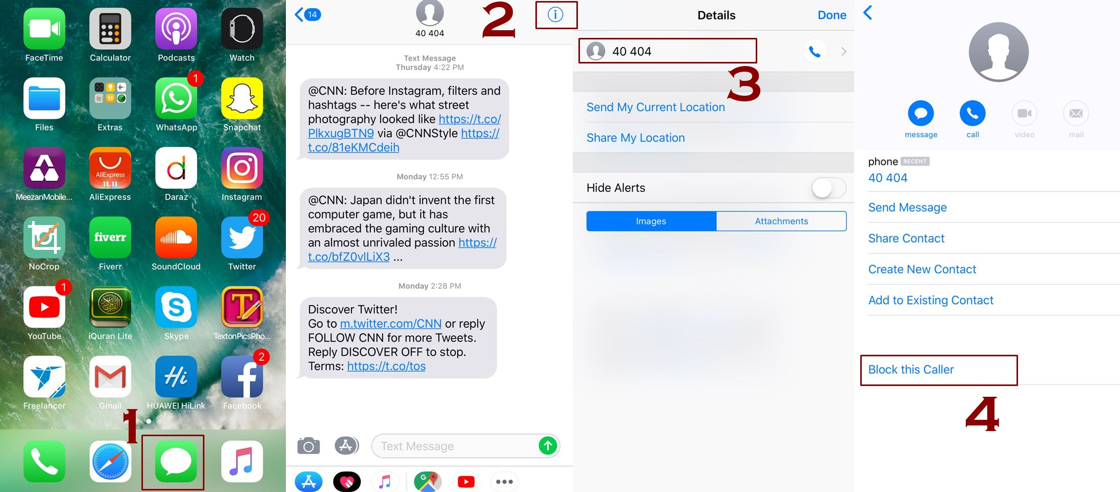 how to block contacts from messages iphone - How to Block a number on iPhone