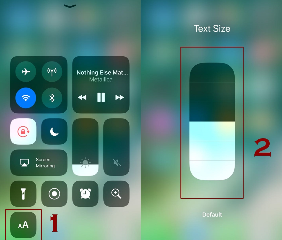 how to increase or decrease text size on iphone 1 - How to change text size on iPhone