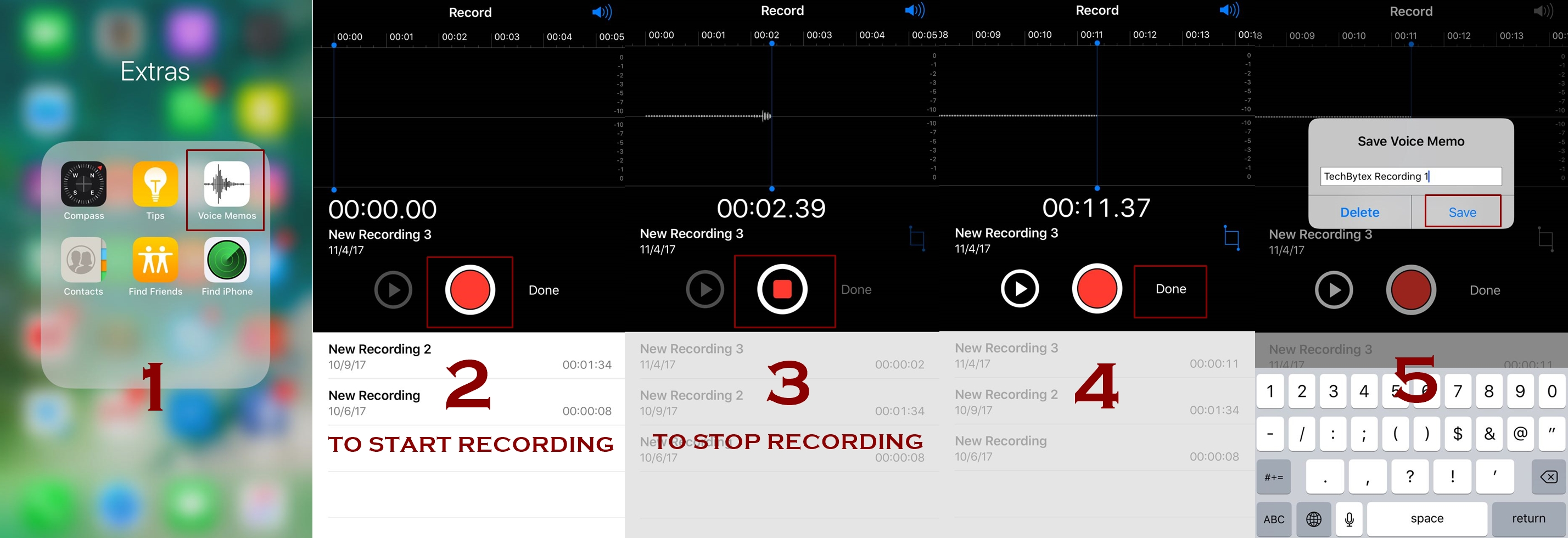 how to record voice memos in iphone - How to use and record voice memos in iPhone