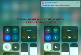 how to stop screen recording on iphone 320x220 - Everything About Screen Recording Feature in IOS 11