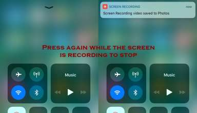 how to stop screen recording on iphone 384x220 - Everything About Screen Recording Feature in IOS 11