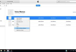 transfer voice memos using itunes 320x220 - How to transfer voice memos from iPhone to Computer