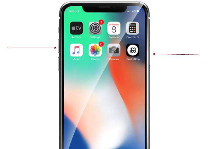 how to turn off iphone x through side buttons 690x491 - How to Turn Off and On iPhone X