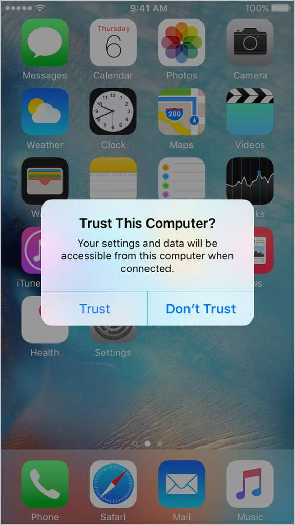 iphone connecting itunes 576x1024 - iTunes not detecting your iPhone fix