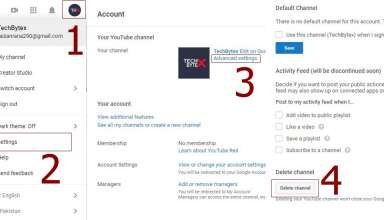 How to delete a youtube channel 384x220 - How to Delete a video and your Youtube Channel