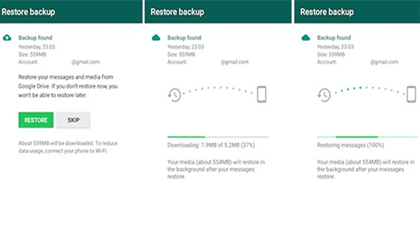 How to Restore Deleted Whatsapp Chat history on Android