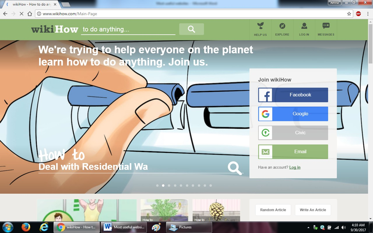 31. wikihow - 100+ most useful websites list we are not yet familiar with