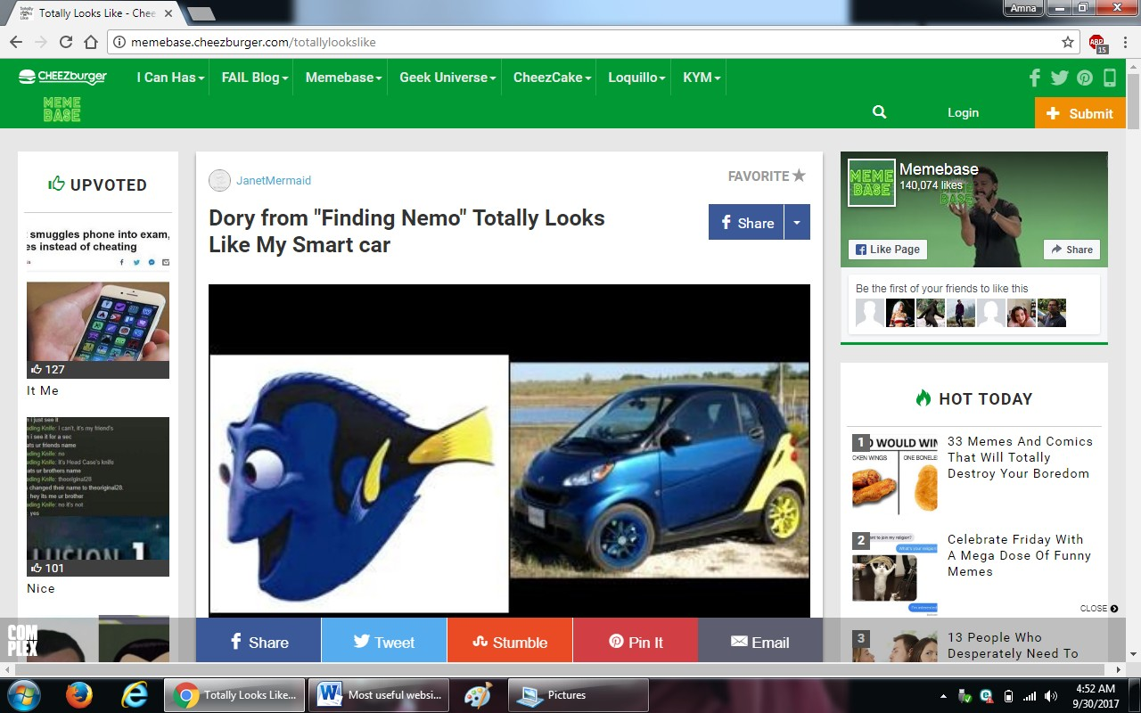 61.totallylookslike.com - 100+ most useful websites list we are not yet familiar with