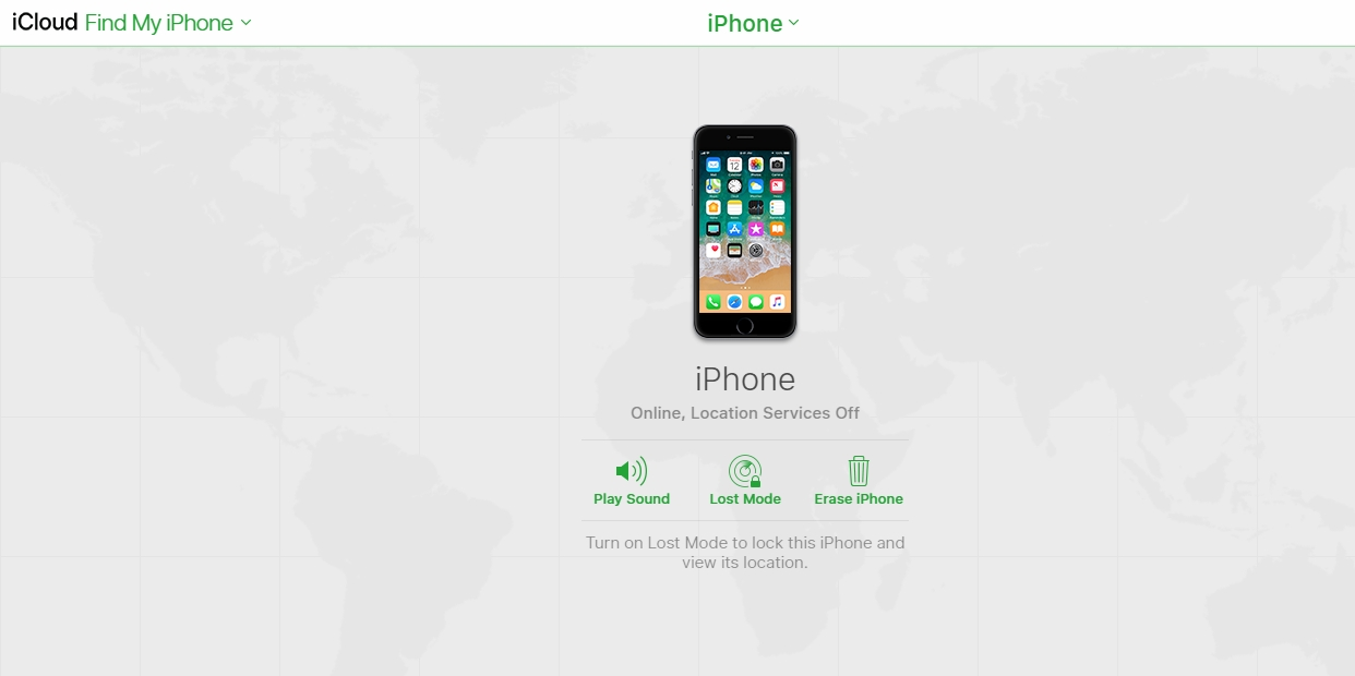 find my iphone erase phone - How to use icloud to erase your phone