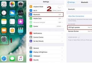 how to turn on bluetooth and bluetooth pairing iphone 320x220 - How to Pair and UnPair Bluetooth device in iPhone