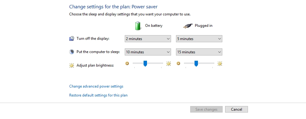 power saver mode in windows 10 - Power Saver Mode Windows 10 - Manage Power Plan for battery battery life