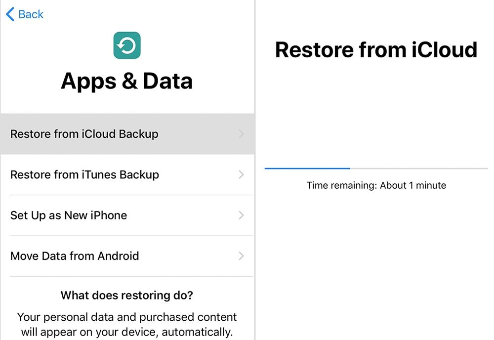 restore your iphone ipad using icloud backup techbytex - Restore your iPhone, iPad, or iPod touch from a backup using icloud