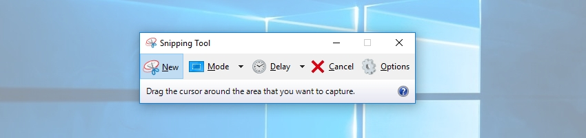 snipping tool windows 10 - How to take screenshots in Laptop on windows 10