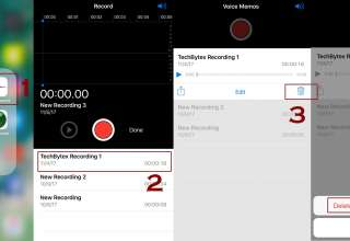 How to delete voice memos on iPhone manually 1 320x220 - How to delete voice memos on iPhone