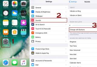 change with buttons volume controls ios 320x220 - How to control the volume on iPhone