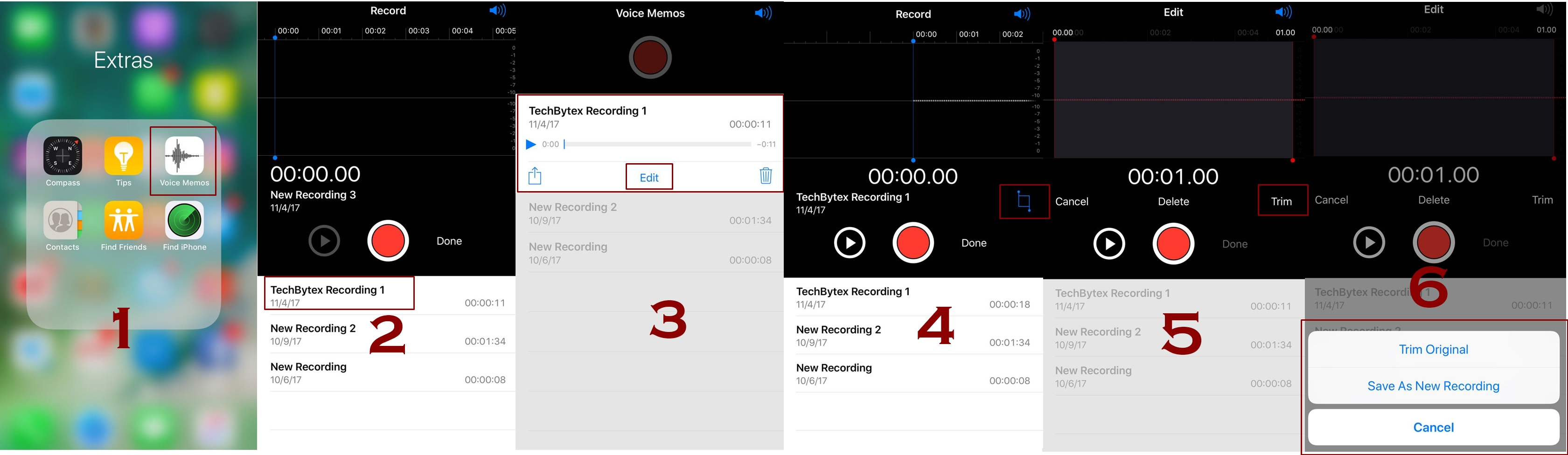 how to edit and trim voice memos on iphone - How to edit and trim voice memos on iPhone