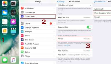 how to enable do not disturb while driving mode iphone 384x220 - How to Enable or Disable Do Not Disturb while driving Mode on iPhone
