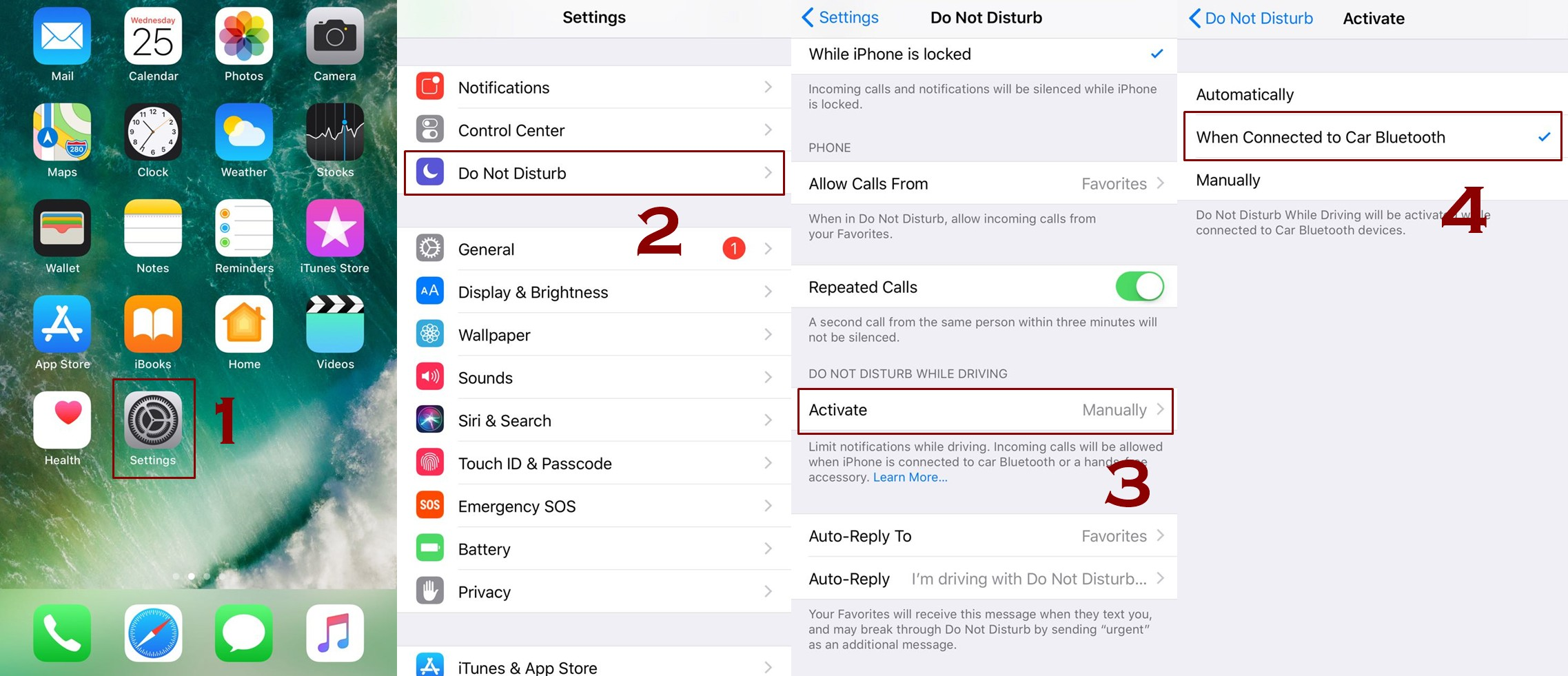 how to enable do not disturb while driving mode iphone - How to Enable or Disable Do Not Disturb while driving Mode on iPhone