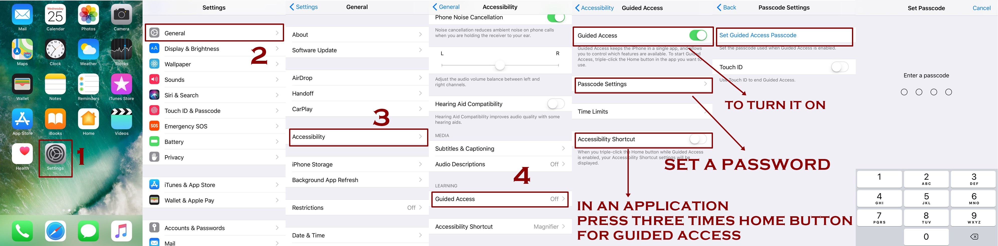 how to enable guided access iphone - Homepage