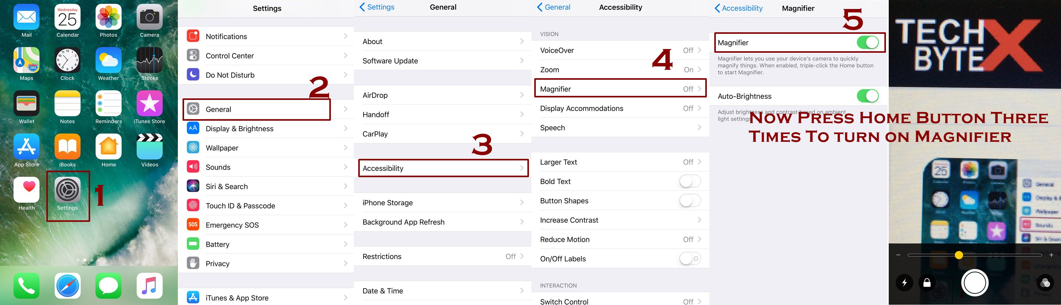 how to enable magnifier on iphone - Everything about Magnifier on iPhone