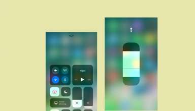 how to enable or disable flash light on iphone ios 11 techbytex 384x220 - How to use Flashlight on iPhone - IOS 11