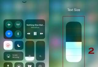 how to increase or decrease text size on iphone 1 320x220 - How to change text size on iPhone