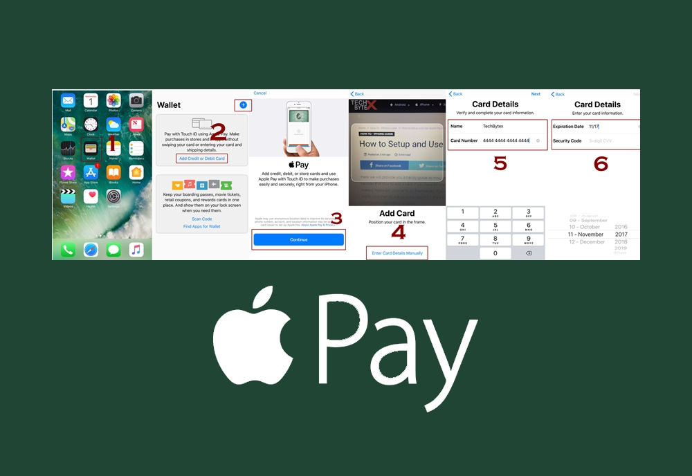 how to setup apple pay on iphone techbytex - Homepage