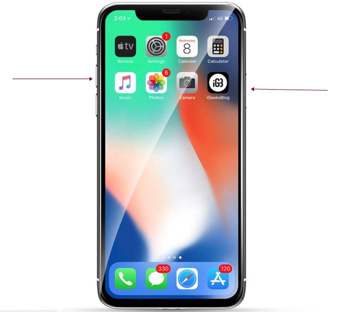 how to turn off iphone x through side buttons - How to Turn Off and On iPhone X