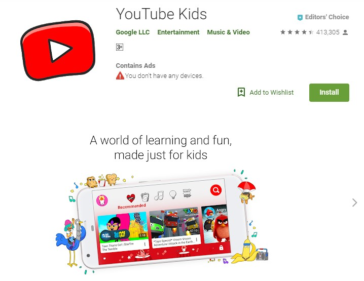 youtube kids android - How to use Parental Controls in Android