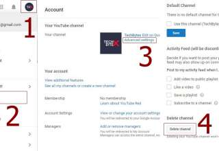 How to delete a youtube channel 320x220 - How to Delete a video and your Youtube Channel
